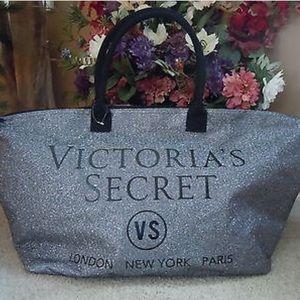 Victoria Secret glitter gym bag